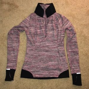 Lululemon long sleeve top size 4 multi color